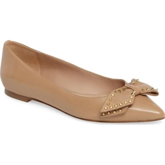 4d4e2c7e2c8e2 NWT Sam Edelman Raisa Leather Pointed Toe Flat